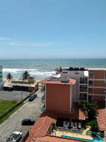 Apartamento Vista Mar com 4 do